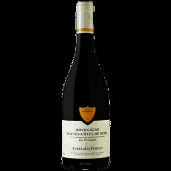 Bottle shot for 2018 Aurelien Verdet Hautes Cotes De Nuits 'le Prieure'