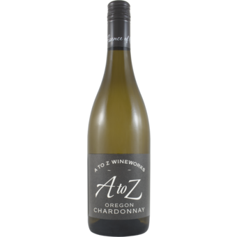 Bottle shot for 2019 A To Z Chardonnay