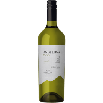 Bottle shot for 2020 Andeluna Cellars Torrontes 1300