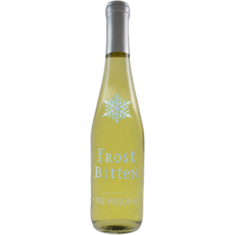 Bottle shot for 2019 Frost Bitten Ice Riesling Yakima Valley