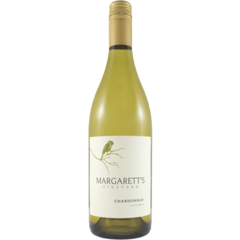 Bottle shot for 2019 Margaretts Vineyard Chardonnay