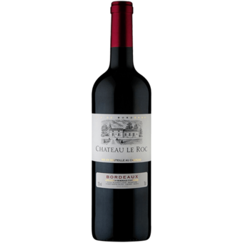 Bottle shot for 2018 Chateau Le Roc