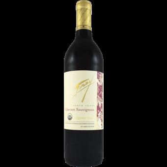 Bottle shot for 2019 Frey Organic Cabernet Sauvignon