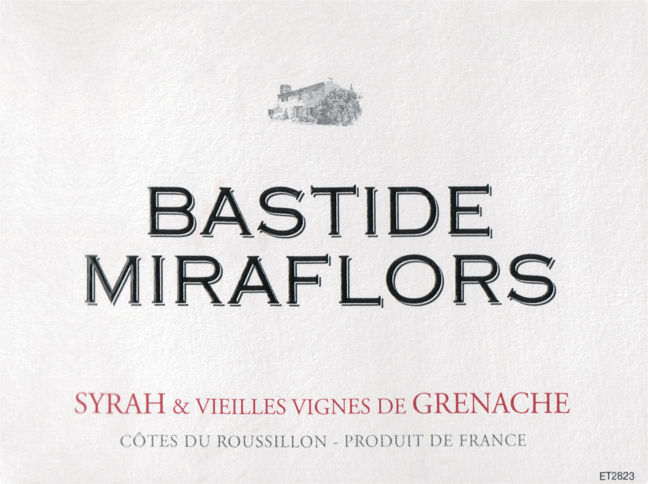 Domaine Lafage Bastide Miraflors Vieilles Vignes 2018