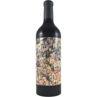 Bottle shot for 2019 Orin Swift Abstract Red