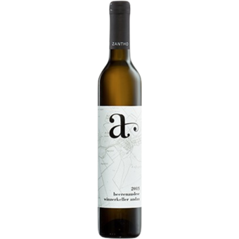 Bottle shot for 2015 Winzerkeller Andau Beerenauslese Scheurebe