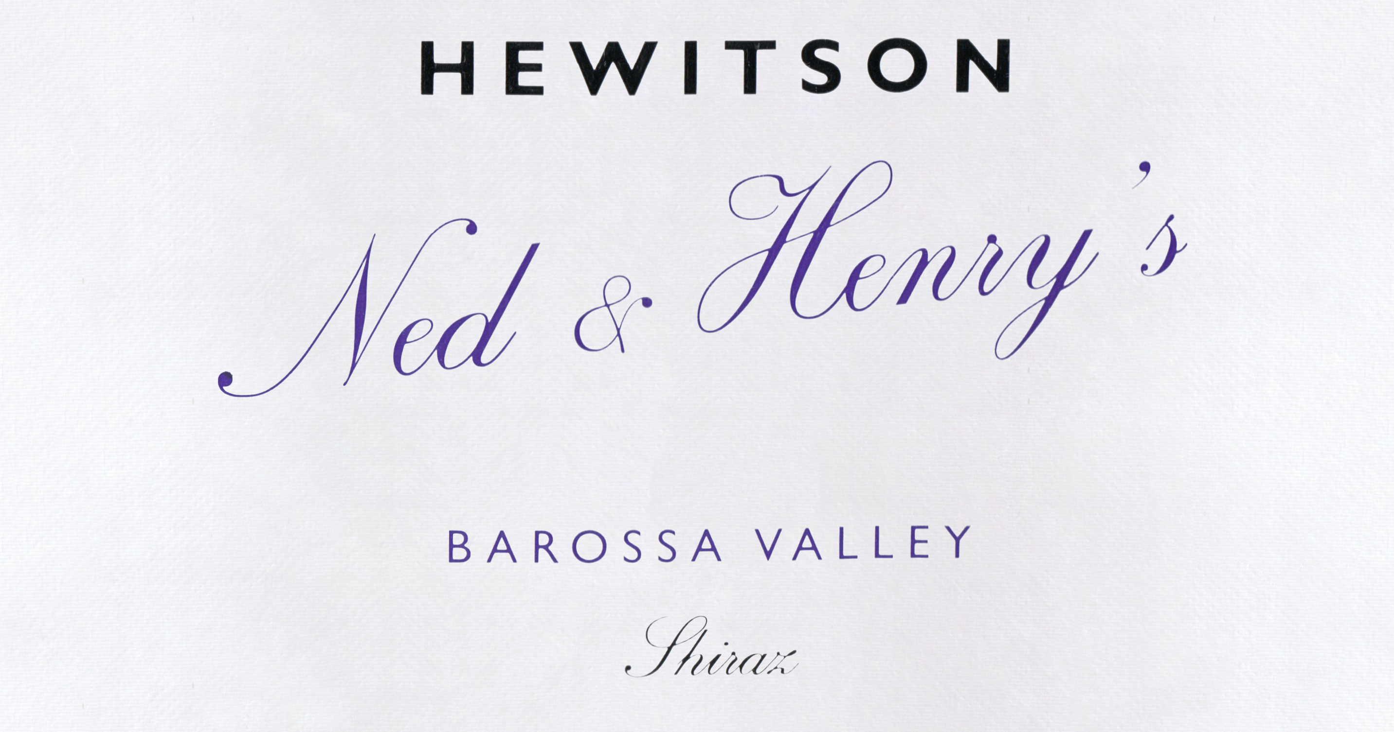Hewitson Ned & Henry