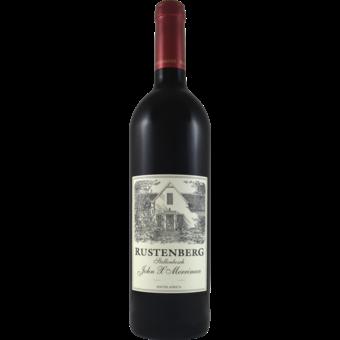 Bottle shot for 2018 Rustenberg John X Merriman Red