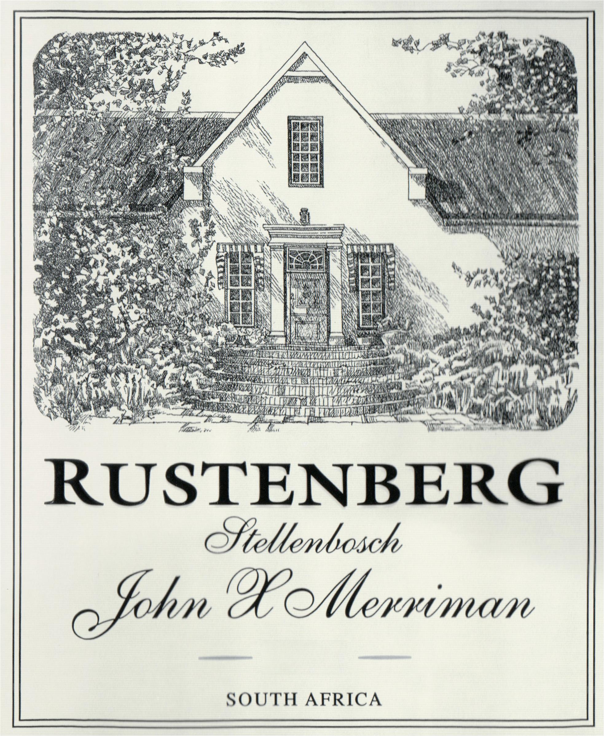 Rustenberg John X Merriman Red 2018