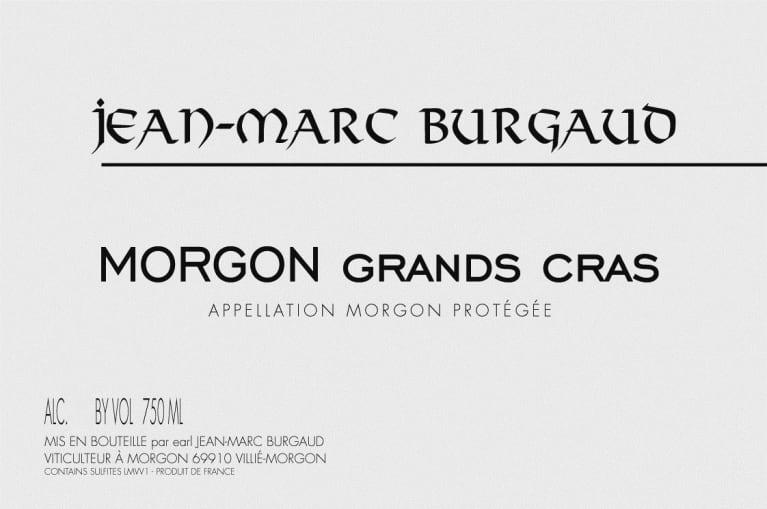 Domaine Jean Marc Burgaud Morgon Grands Cras 2019