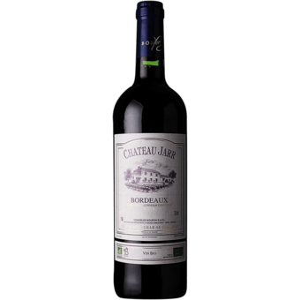 Bottle shot for 2019 Chateau Jarr Bordeaux