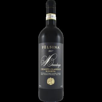 Bottle shot for 2017 Felsina Chianti Classico Riserva