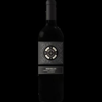 Bottle shot for 2017 Jaqk Cellars 'high Roller' Paso Robles Cabernet Sauvignon