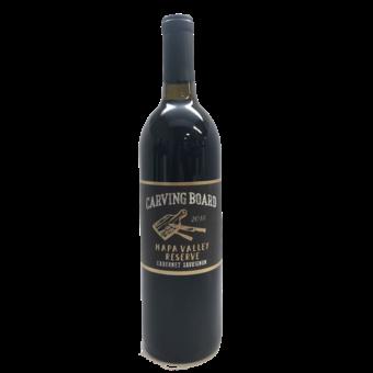 Bottle shot for 2018 Carving Board Napa Valley Reserve Cabernet Sauvignon