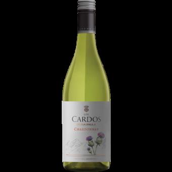 Bottle shot for 2017 Dona Paula Los Cardos Chardonnay