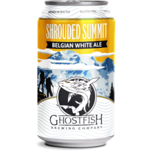 Ghostfish Gluten Free Shrouded Summit Belgian White Ale