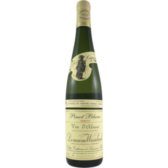 Bottle shot for 2018 Weinbach Pinot Blanc Reserve