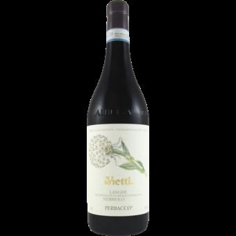 Bottle shot for 2018 Vietti Nebbiolo Perbacco