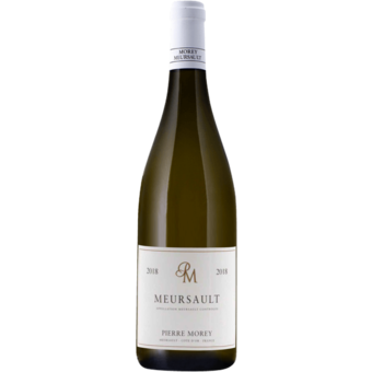 Bottle shot for 2018 Pierre Morey Meursault