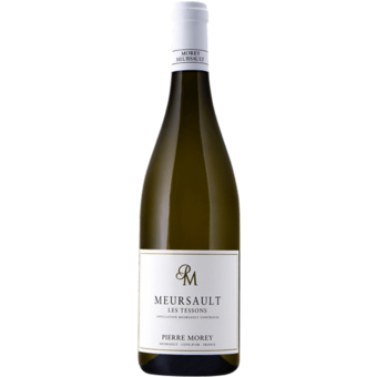 Bottle shot for 2018 Pierre Morey Meursault Les Tessons