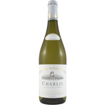 Bottle shot for 2019 Domaine Du Colombier Chablis