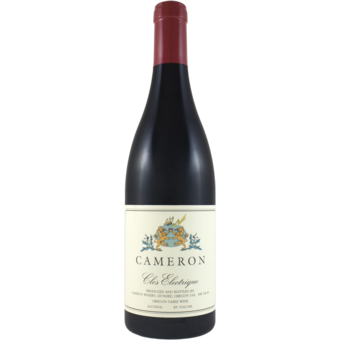 Bottle shot for 2018 Cameron Clos Electrique Rouge