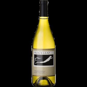 Bottle shot for 2018 Frogs Leap Chardonnay Napa