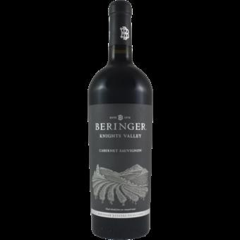 Bottle shot for 2018 Beringer Cabernet Sauvignon Knight's Valley