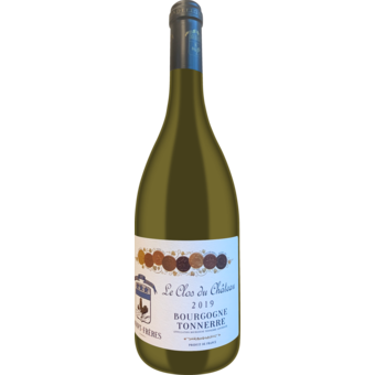 Bottle shot for 2019 Vignoble Dampt Freres Clos Du Chateau Bourgogne Tonnerre