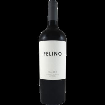 Bottle shot for 2019 Vina Cobos Felino Malbec