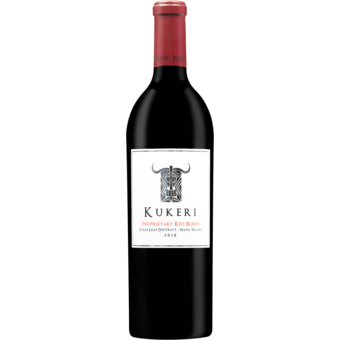 Bottle shot for 2018 Kukeri Stags Leap Proprietary Red Blend
