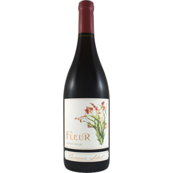 Bottle shot for 2018 Fleur De California Pinot Noir Carneros