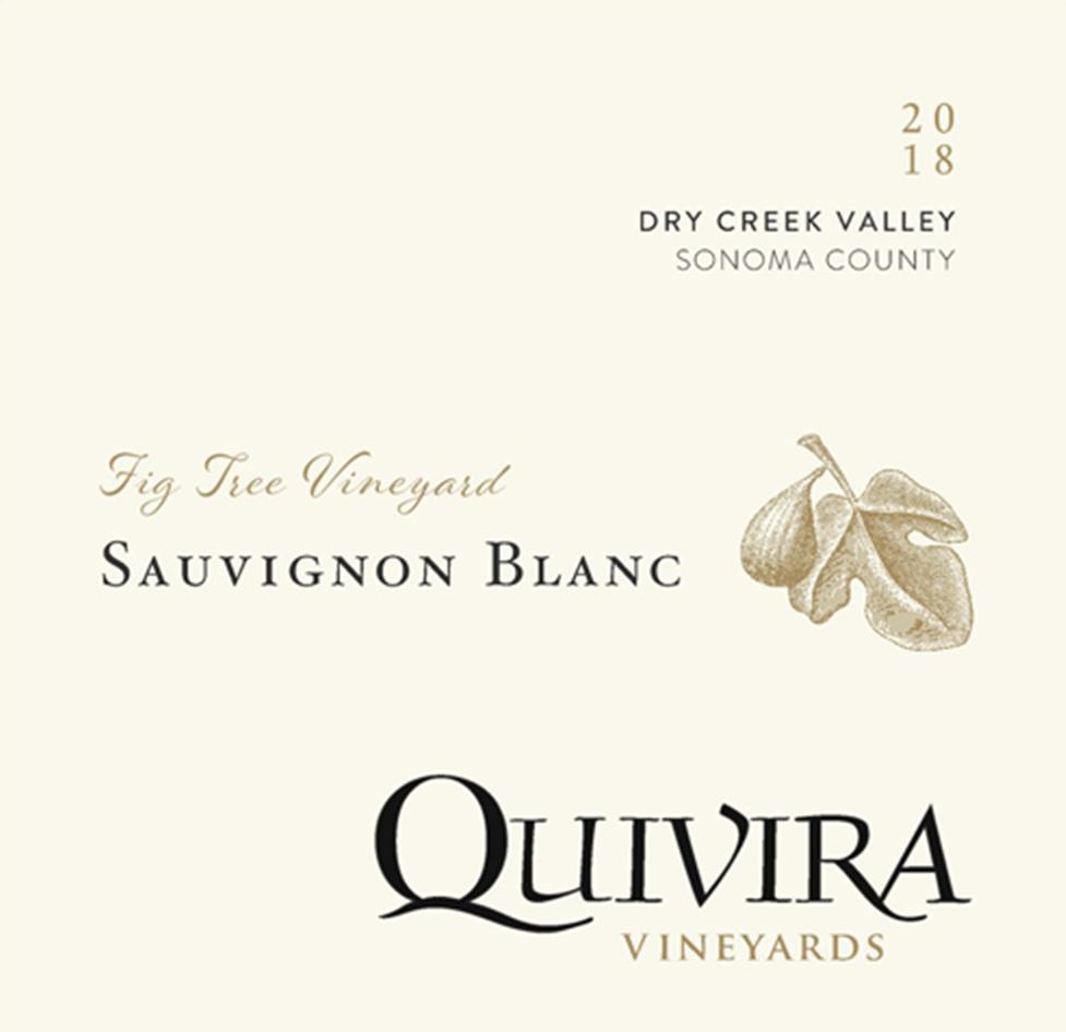 Quivira Fig Tree Sauvignon Blanc 2018