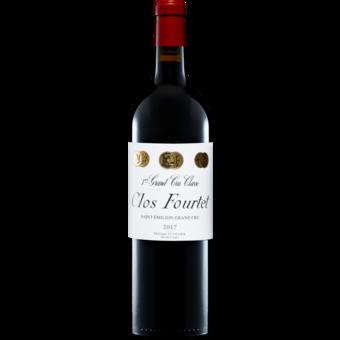 Bottle shot for 2017 Clos Fourtet Saint Emilion