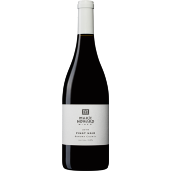Bottle shot for 2018 Marie Howard Sonoma Pinot Noir
