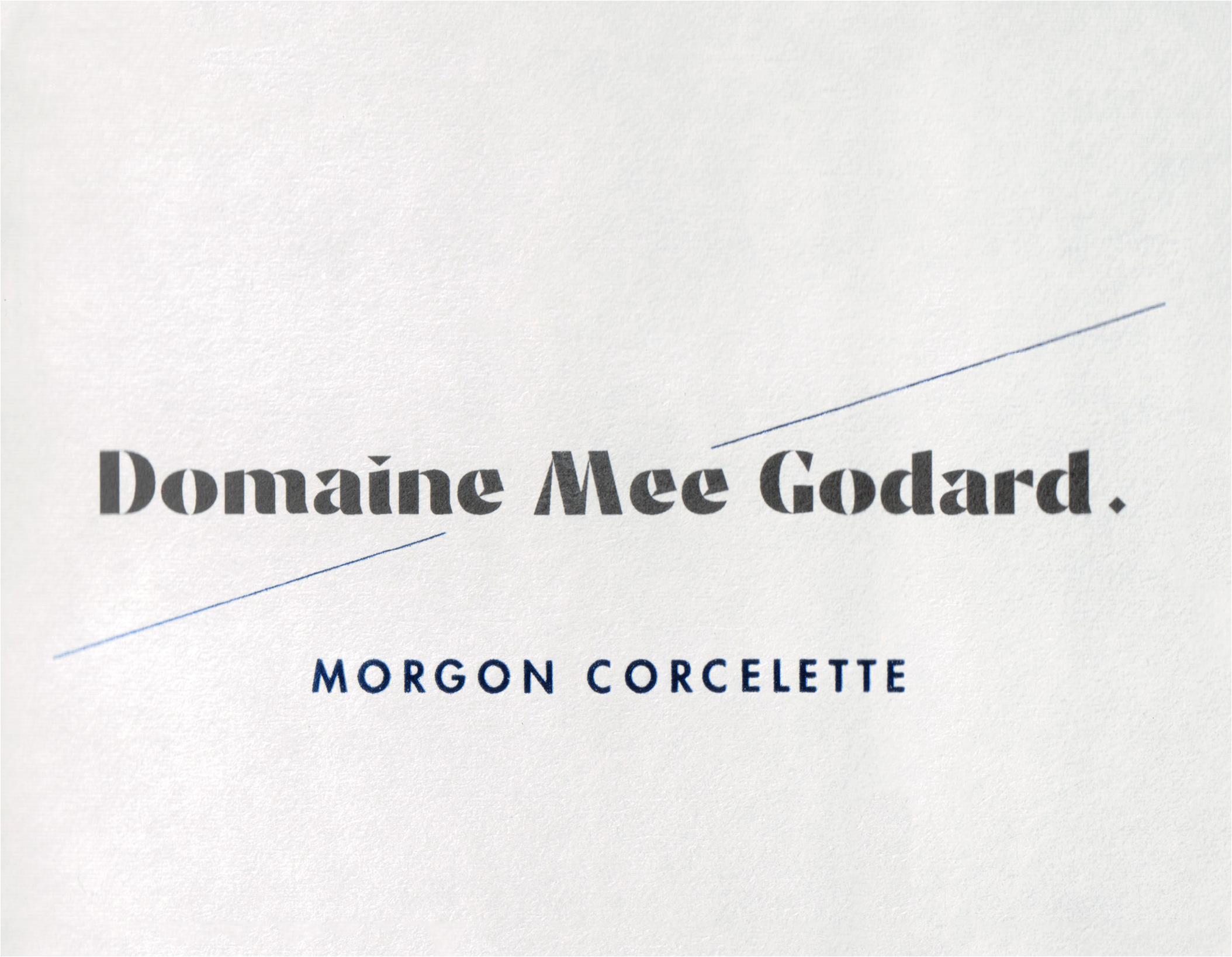 Domaine Mee Godard Morgon Corcelette 2018