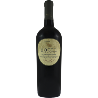 Bottle shot for 2018 Bogle Merlot