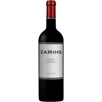 Bottle shot for 2016 Bodegas Borsao Syrah Campo De Borja Zarihs