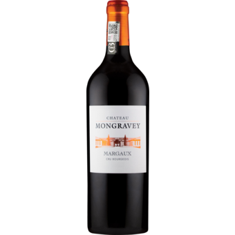 Bottle shot for 2018 Chateau Mongravey Margaux