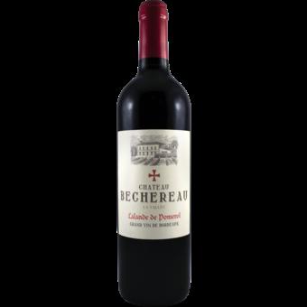 Bottle shot for 2017 Chateau Bechereau Lalande De Pomerol