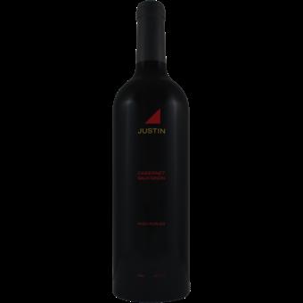 Bottle shot for 2018 Justin Cabernet Sauvignon