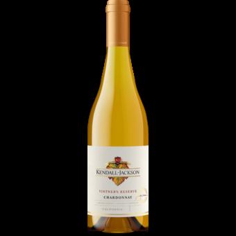 Bottle shot for 2019 Kendall Jackson Vintner's Reserve Chardonnay