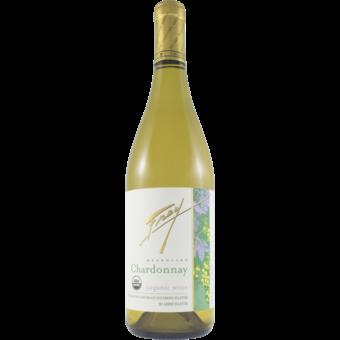 Bottle shot for 2019 Frey Organic Chardonnay