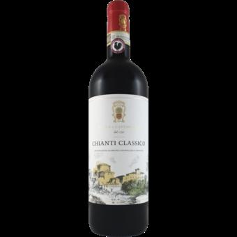 Bottle shot for 2018 Rocca Di Castagnoli Chianti Classico