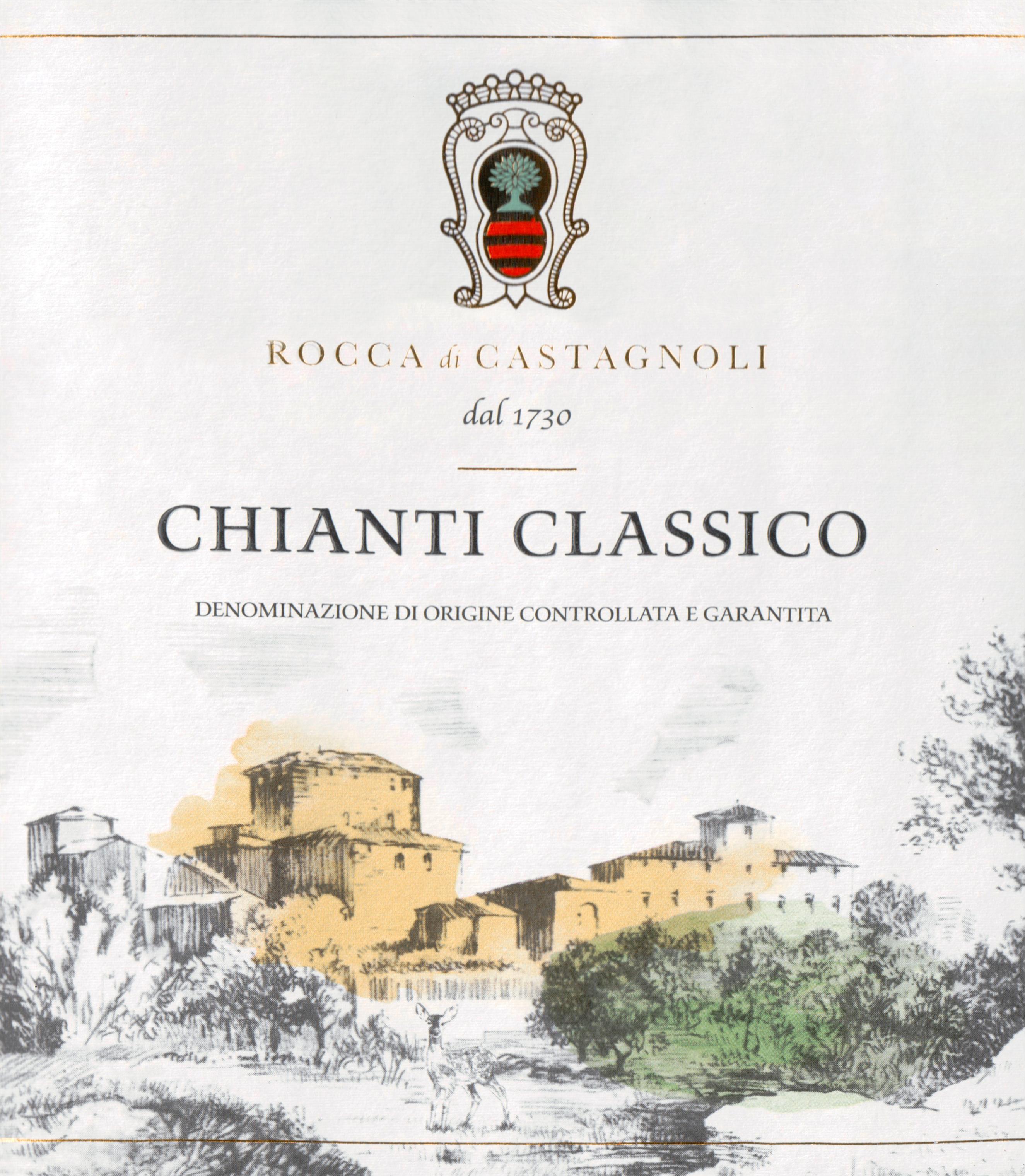Rocca Di Castagnoli Chianti Classico 2018