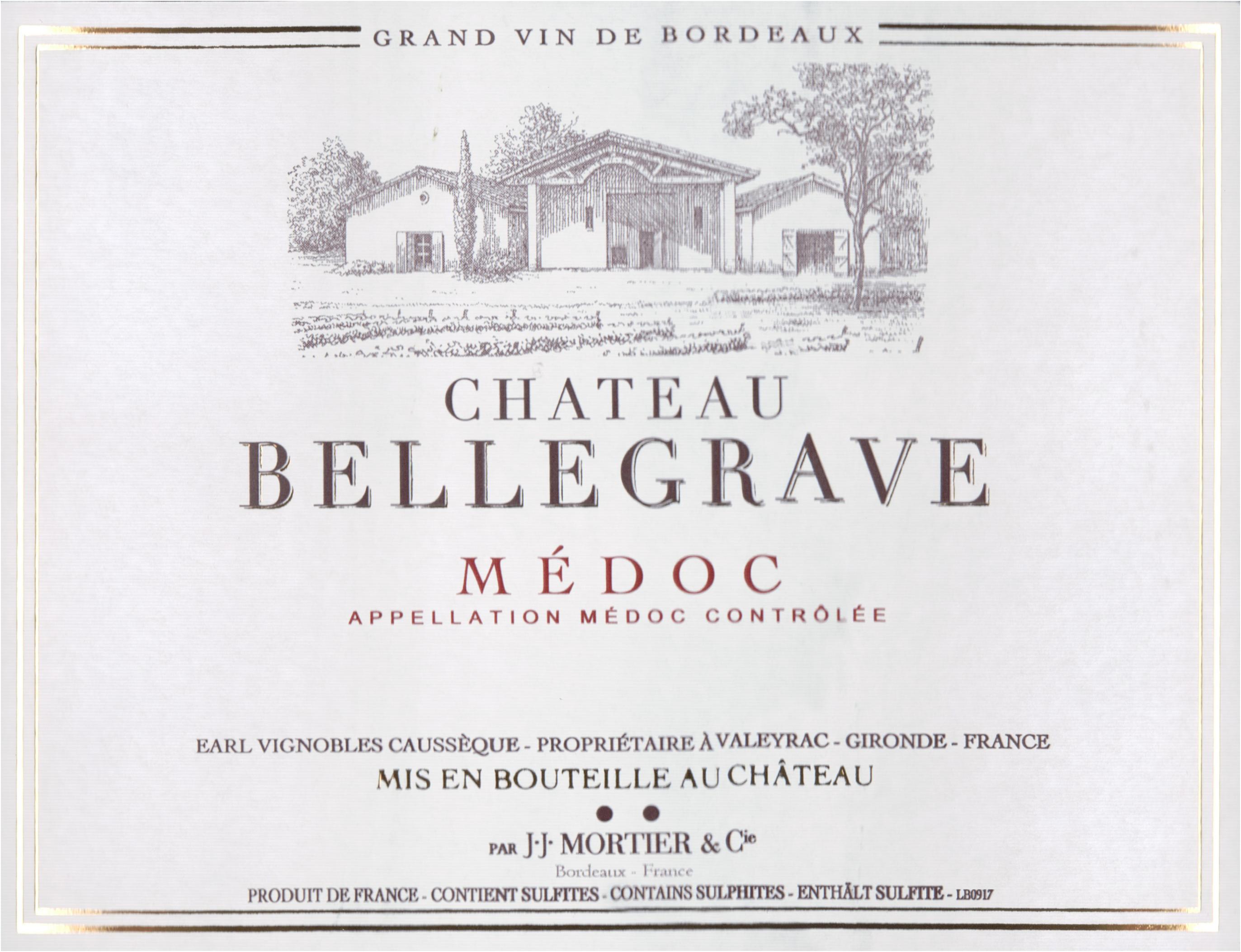 Chateau Bellegrave 2018