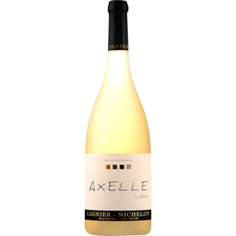 Bottle shot for 2017 Lignier Michelot Bourgogne Blanc Cuvee Axelle