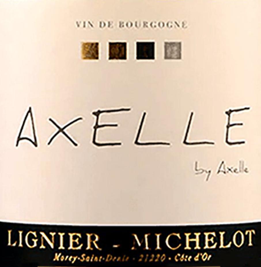 Lignier Michelot Bourgogne Blanc Cuvee Axelle 2017