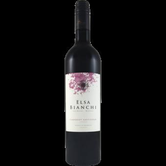 Bottle shot for 2019 Elsa Bianchi Cabernet Sauvignon