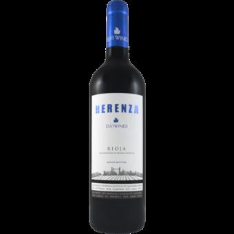 Bottle shot for 2019 Elvi Herenza Rioja